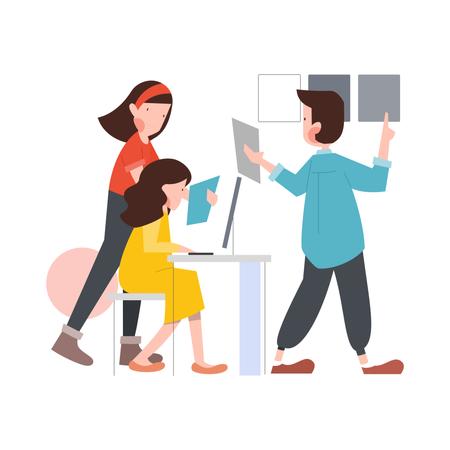 Work smart Illustration