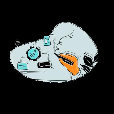 Workflow Automation Illustration