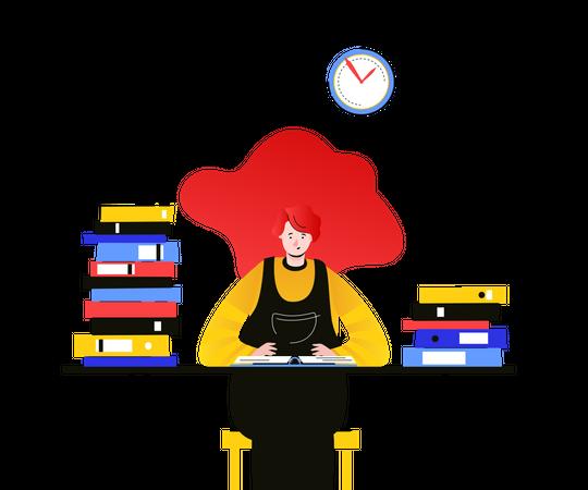 Workflow management Illustration