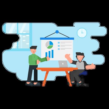 Workflow Meeting Illustration