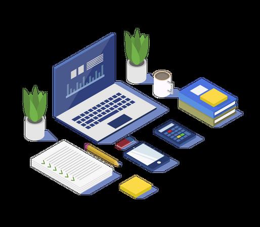 Working setup Illustration