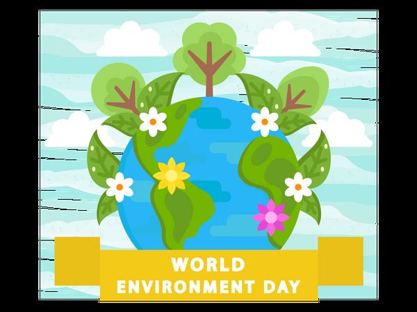 World Environment Day Illustration