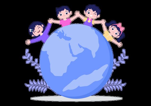 World Population Day Illustration