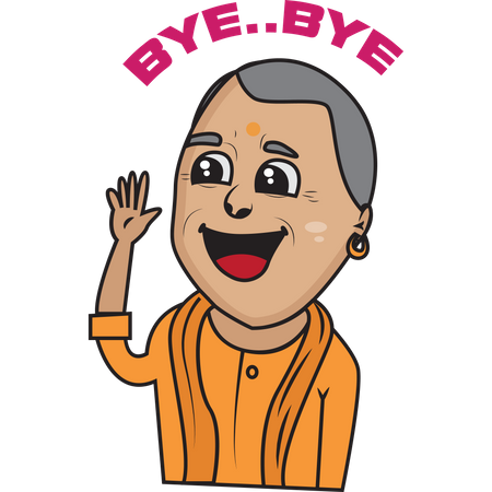 Yogi Adityanath Illustration