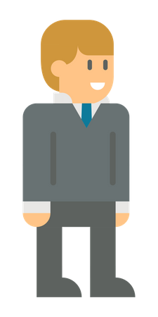 Young business person Illustration